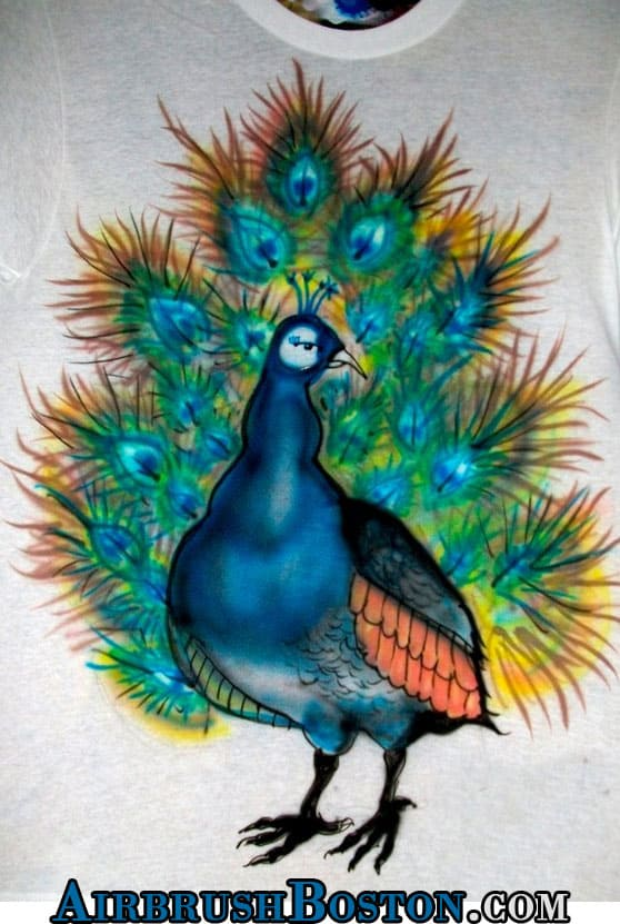 peacock-boston-airbrush