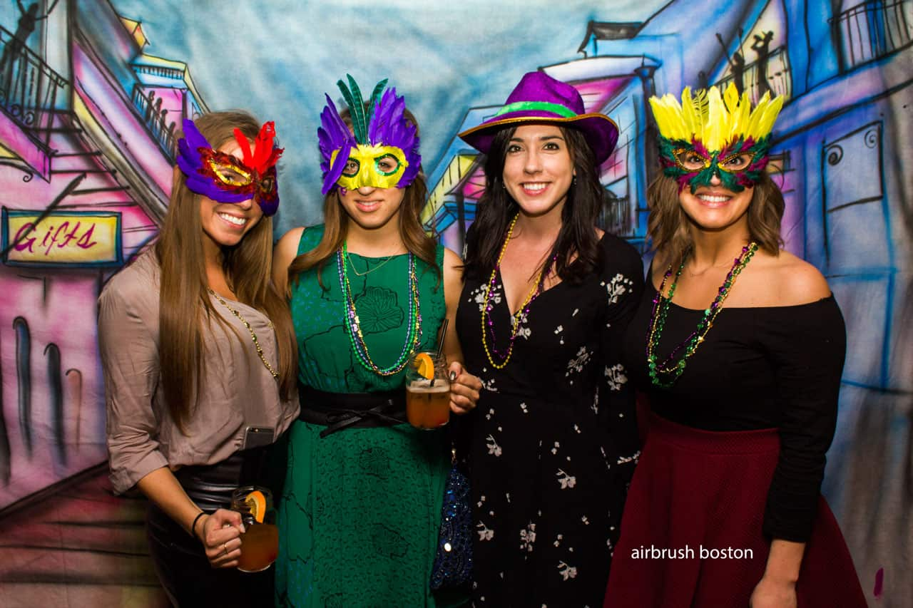event promotions with airbrush boston