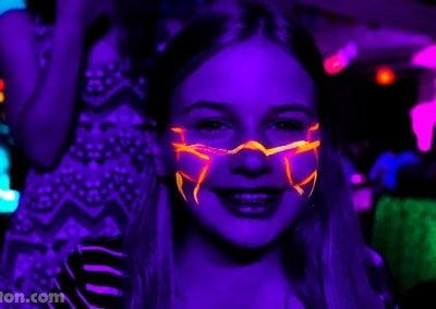 Glow in the Dark Blacklight Mitzvah