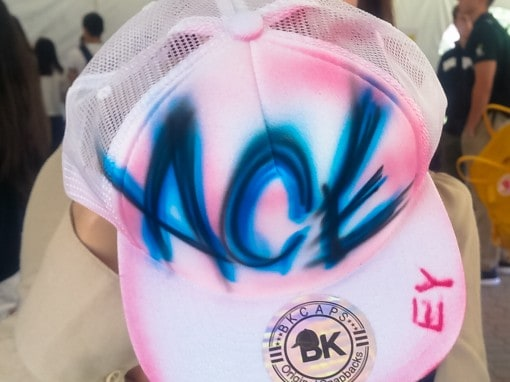 Airbrush College Hat Party