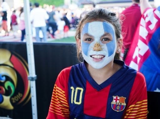 Gillette Stadium Face Painting and Airbrush