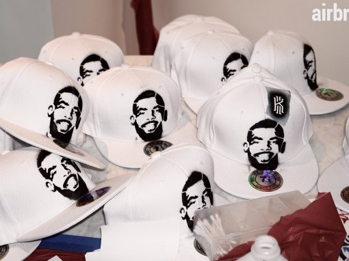 Kyrie Irving Airbrush Party